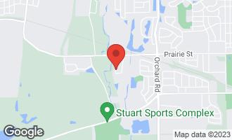 Map of 662 Sumac Drive AURORA, IL 60506