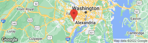 Map of 6634 WESTBURY OAKS COURT SPRINGFIELD, VA 22152