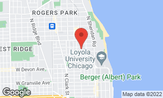 Map of 6641 North Glenwood Avenue 3S CHICAGO, IL 60626
