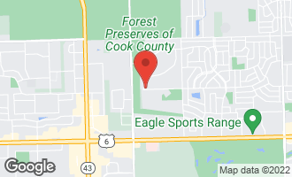 Map of 6641 Victoria Drive OAK FOREST, IL 60452