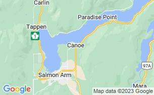 Map of Hidden Valley Campground & RV Park