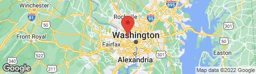 Map of 6677 MACARTHUR BOULEVARD BETHESDA, MD 20816