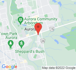 Google Map of 669+Wellington+Street+East%2CAurora%2COntario+L4G+0C9