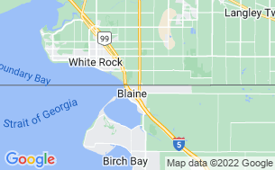 Map of Pacific Border RV Park