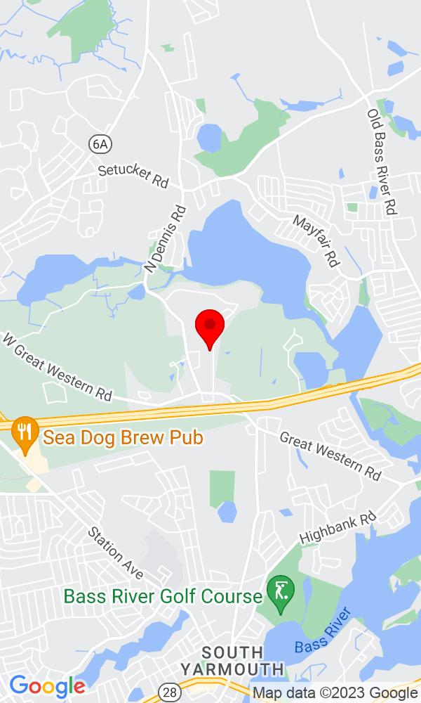 Google Map of67 Cranberry Lane South Yarmouth MA