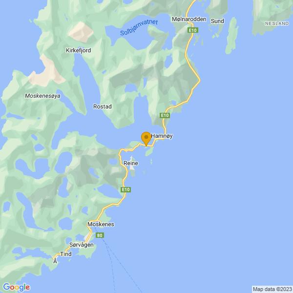 Google Map of 67.9410865,13.110635199999933
