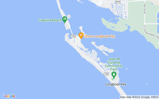 6700 Gulf Of Mexico Dr #139 Longboat Key Florida 34228 locatior map