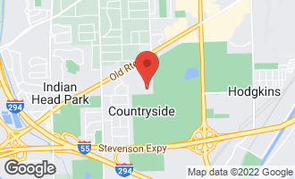 Map of 6700 South Brainard Avenue #302 COUNTRYSIDE, IL 60525