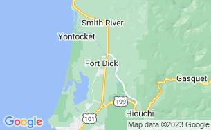 Map of The Redwoods RV Resort