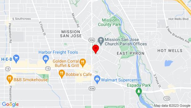 Google Map of 6701 San Jose Drive, San Antonio, TX 78214