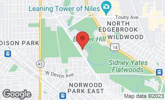 Map of 6701 North Milwaukee Avenue #404 NILES, IL 60714