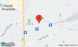 Map of 6725 31st Street BERWYN, IL 60402