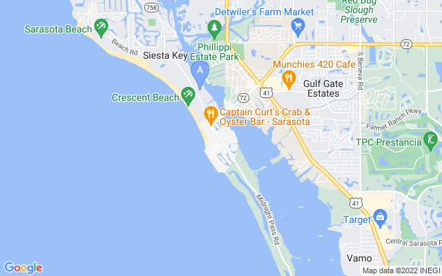 6727 Midnight Pass Rd #306A Sarasota Florida 34242 locatior map