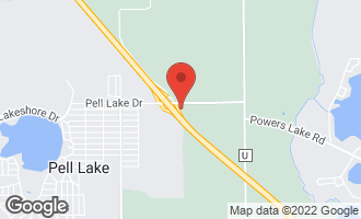 Map of 673 West Pell Lake Drive BLOOMFIELD, WI 53128