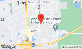 Map of 6730 Eagle Drive TINLEY PARK, IL 60477