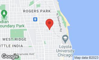 Map of 6732 North Newgard Avenue CHICAGO, IL 60626