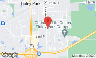 Map of 6733 181st Street TINLEY PARK, IL 60477