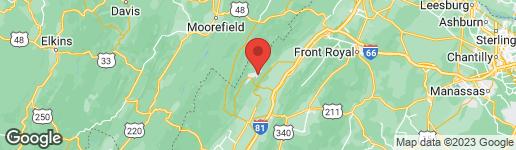 Map of 674 COTTONWOOD DRIVE MOUNT JACKSON, VA 22842