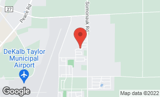 Map of 674 North Goldenrod Street CORTLAND, IL 60112