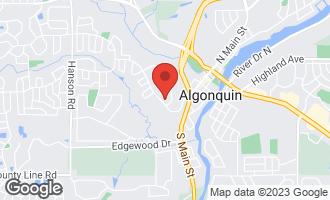 Map of 675 Concord Court ALGONQUIN, IL 60102