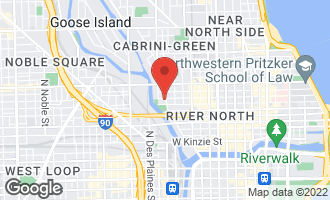 Map of 676 North Kingsbury Street PH02 CHICAGO, IL 60654