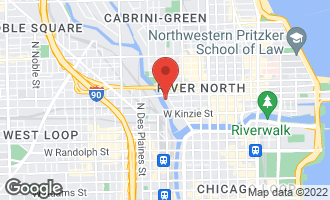 Map of 676 North Kingsbury Street PH04 CHICAGO, IL 60654