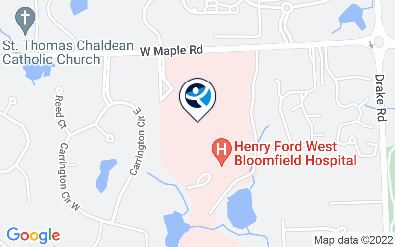 Henry Ford Health Systems - Maplegrove Ctr for Chem Dependency Location and Directions