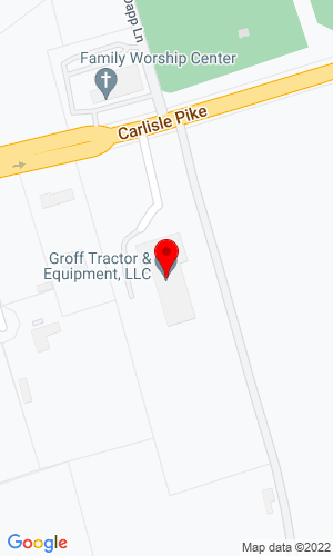 Google Map of Groff Tractor & Equipment, LLC 6779 Carlisle Pike, Mechanicsburg, PA, 17050