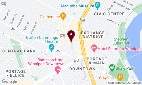 map of Potted Wpg