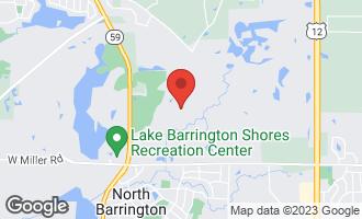 Map of 68 South Wynstone Drive NORTH BARRINGTON, IL 60010