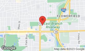 Map of 68 Tanglewood Drive #68 GLEN ELLYN, IL 60137