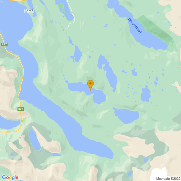 Google Map of 68.2089779,16.7670977