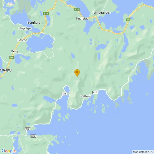 Google Map of 68.2142586,13.917258199999992