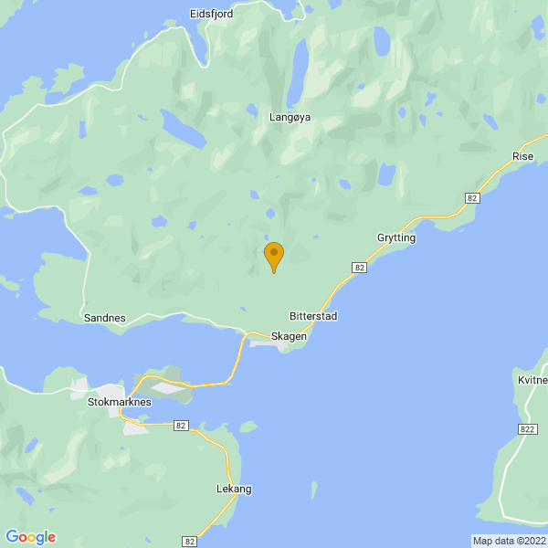 Google Map of 68.60004135002119,15.02619824850509