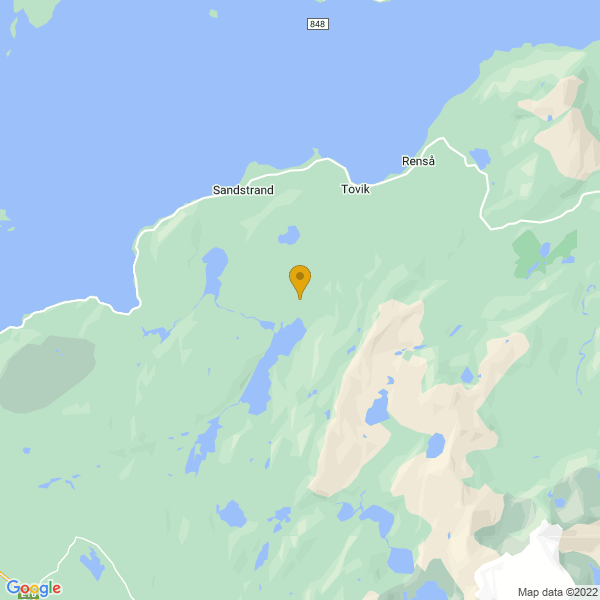 Google Map of 68.6515198245941,16.831668227901005