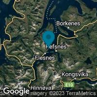 Lagekarte von Gullesfjord