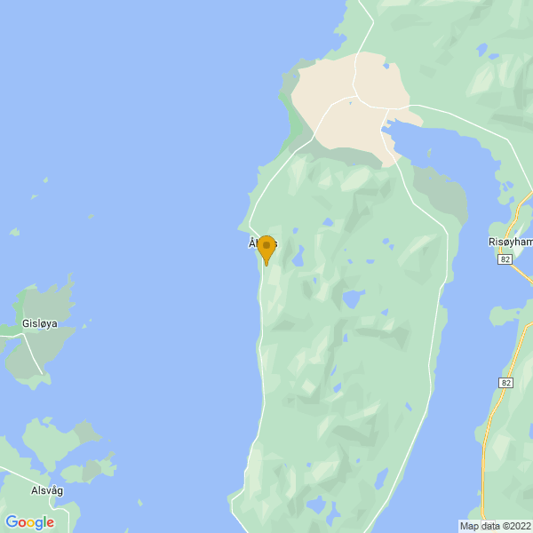 Google Map of 68.96497143457918,15.446174771757416