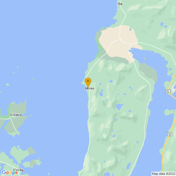 Google Map of 68.9717647,15.44020219999993