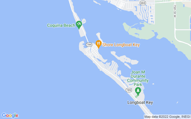 6800 Gulf Of Mexico Dr #184 Longboat Key Florida 34228 locatior map
