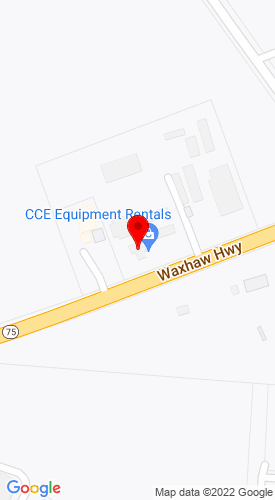 Google Map of Carolina Construction Equipment 6800 Waxhaw Hwy, Waxhaw, NC, 28173