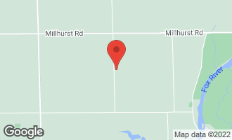 Map of 6800 Sandy Bluff Road SANDWICH, IL 60548