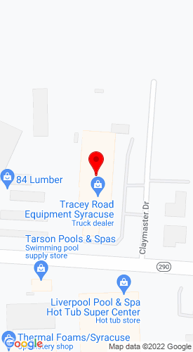 Google Map of Tracey Road Equipment, Inc. 6803 Manlius Center Road, East Syracuse, NY, 13057