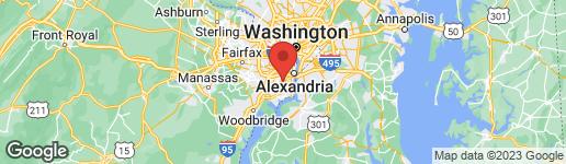 Map of 6804 BLUE SLATE COURT ALEXANDRIA, VA 22306