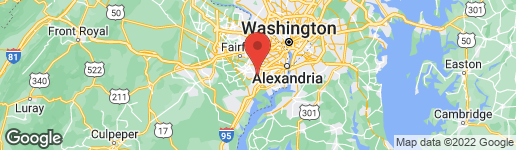 Map of 6807 WILD ROSE COURT SPRINGFIELD, VA 22152