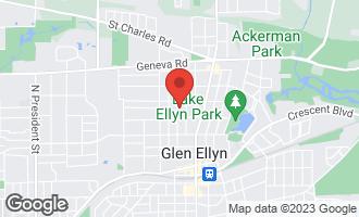 Map of 681 Pleasant Avenue GLEN ELLYN, IL 60137