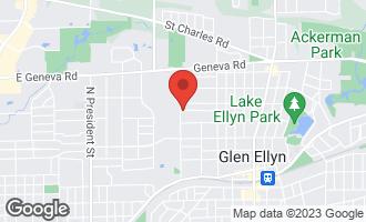 Map of 683 Kenilworth Avenue GLEN ELLYN, IL 60137