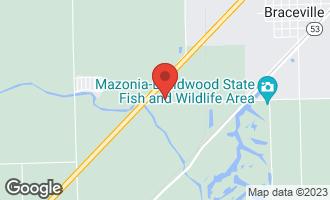 Map of 6830 East Huston Road BRACEVILLE, IL 60407