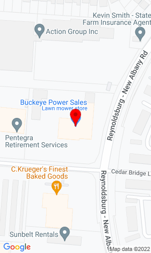 Google Map of Buckeye Power Sales 6850 Commerce Court Dr, Blacklick, OH, 43004