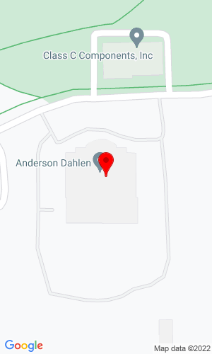 Google Map of Anderson Dahlen 6850 Sunwood Drive NW, Ramsey, MN, 55303