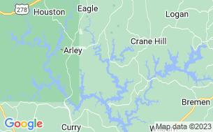 Map of Hidden Cove Outdoor Resort